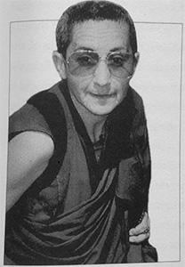 Portrait of Bhikshuni Jampa Chokyi.