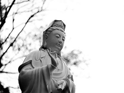 Statue of Guanyin.