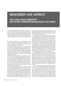Bild zum Artikel REAGIEREN AUF GEWALT