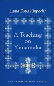 Cover of book A Teaching on Yamantaka.