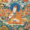 Thangka image of Shantarakshita.