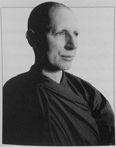 Portrait of Ajahn Sundara.