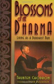 Cover of Blossoms of the Dharma.