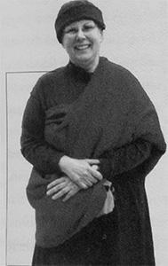 Portrait of Bhikshuni Tenzin Namdrol.