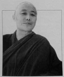 Portrait of Sramanerika Thubten Lhatso.