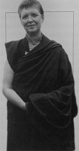Portrait of Bhikshuni Tsultrim Palmo.