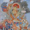 Thangka image of Manjushri.