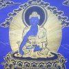 Thangka of medicine buddha.