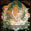 Thangka image of Manjushri