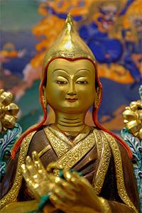 Statue of Je Tsongkhapa