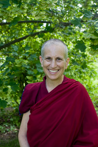 Photo of Venerable Thubten Chodron