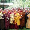 Group photo of monastics.