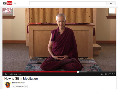 La Venerable Chodron en Youtube.