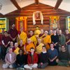 A joyful group photo of Exploring Monastic Life 2010.
