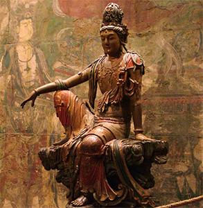 Statue of Kuan Yin.