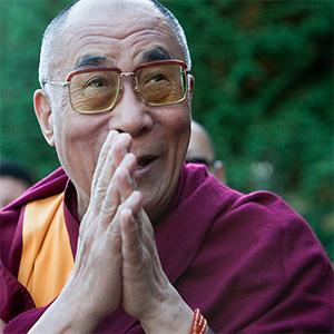His Holiness the Dalai Lama.