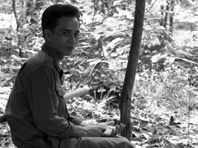 Vietnamese soldier.