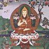 Thangka con la imagen de Lama Tsongkhapa.