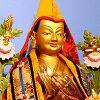 Statue of Lama Tsongkhapa.