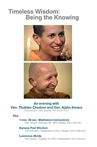 Cover of Timeless Wisdom DVD.