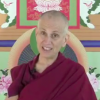 Venerable Chodron teaching on video