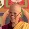 Venerable Chodron teaching on video