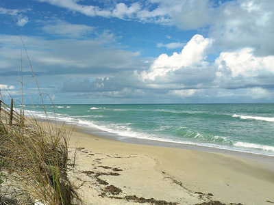 Melbourne Beach, Florida.