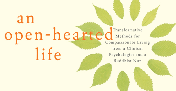 Image from cover of An Open-hearted Life book.