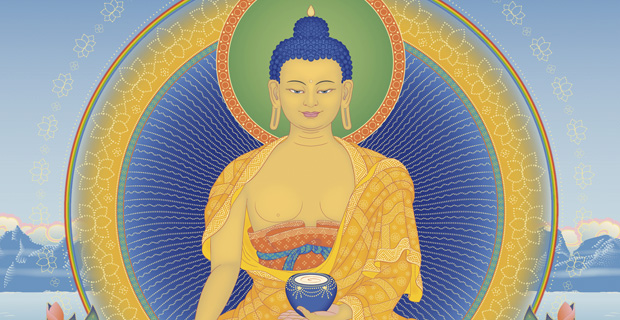 Painting of Shakyamuni Buddha.
