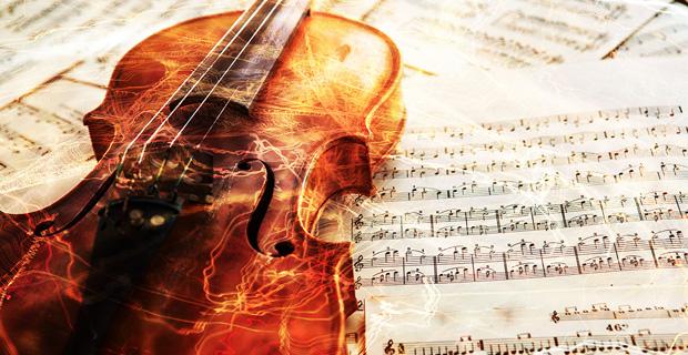 A cello and a music sheet.