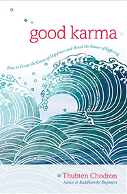 "Cover of the book ""Good Karma.""."