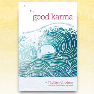 "Cover of book ""Good Karma."""