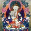 Thangka image of Vajrasattva.
