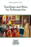 Cover of Dharmaguptaka Vinaya Teachings and Rites for Śrāmaṇerī/as.