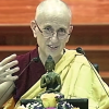 Ven. Chodron teaching at Vimalakirti Buddhist Centre.